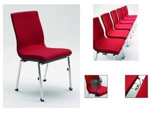 Flair 17/1, Feuerfeste gepolsterte Stuhl, verschiedene Optionen zur Verfügung
