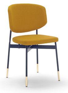 Foulard, Stuhl mit einer bestimmten Metallbasis