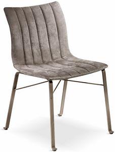 Ginevra Stuhl, Stuhl mit ergonomischem Sitz