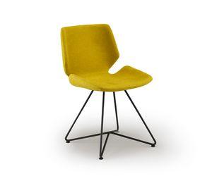Meg-X, Stuhl mit Metallfuß