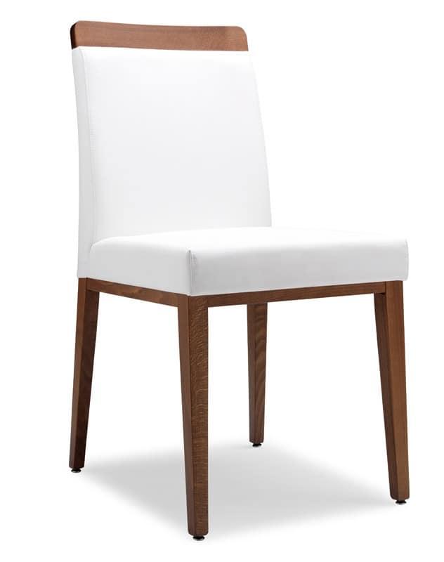 SE 49 / L, Stuhl aus Stoff, Holzrahmen bedeckt, für Bars