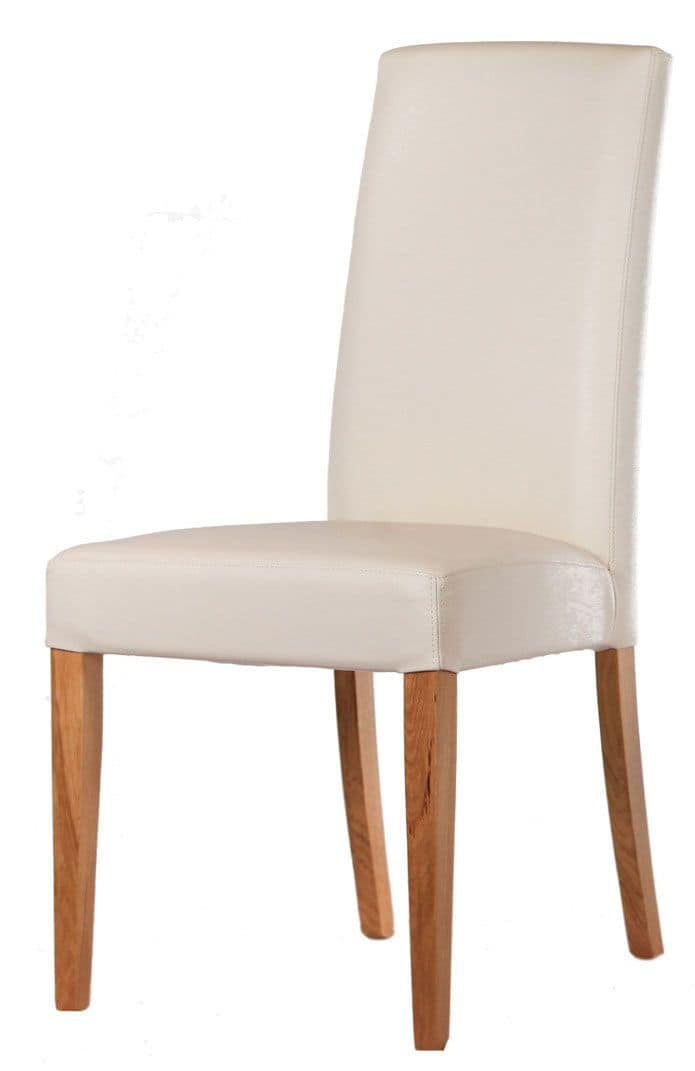SE 1013.2, Stuhl mit lackiertem Holzsockel, bedeckt, für Hotels