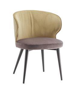 STOCCOLMA S, Stuhl mit umhüllender Rückenlehne