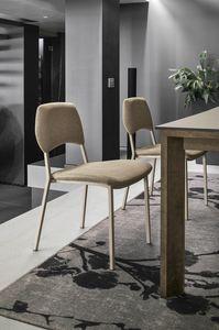 TORONTO SE196, Stuhl mit Rückenlehne und gepolstertem Sitz