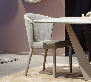 Tweet Art. 608, Moderner Stuhl mit Wickelrückseite