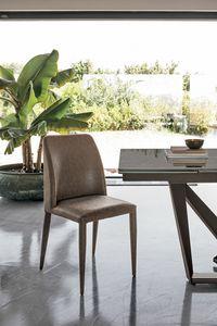 VIENNA SE608, Polsterstuhl ideal für Küche und Esszimmer
