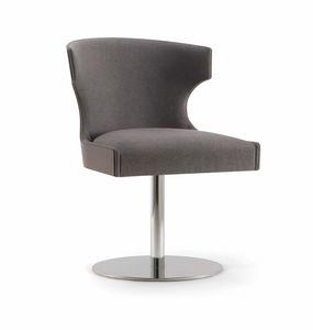 XIE SIDE CHAIR 053 S F, Stuhl mit Scheibenboden
