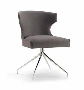 XIE SIDE CHAIR 053 S Z, Stuhl mit Spinnenbasis
