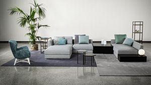 Adam, Modulares Sofa im kosmopolitischen Look