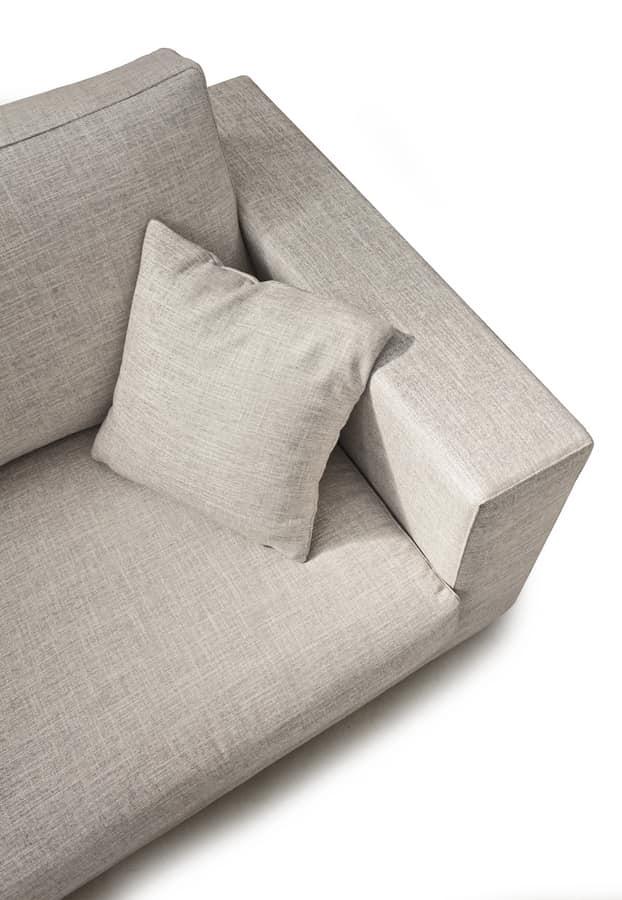 Art. 3210 Milena, Sofa mit einem zeitgenössischen Design