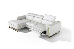 Ashley, Sofa mit modernem und linearem Design