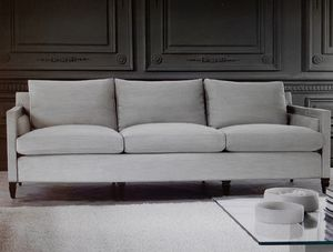 Edmond, 3-Sitzer-Sofa, Kissen mit abnehmbarer Polsterung