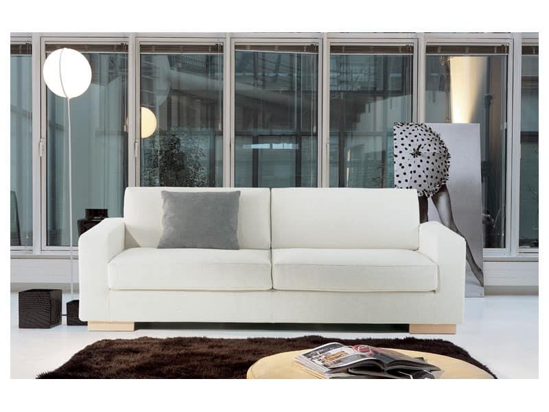 Brug, Elegantes Sofa aus Polyurethanschaum, für Büros