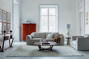 Celine, Sofa mit eleganten und raffinierten Linien