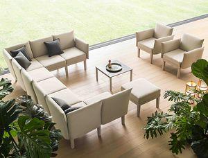 Conga, Modulares Lounge-Sitzsystem für drinnen und draußen