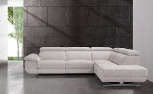 Cristian, Modulares Sofa mit Entspannungsmechanismus