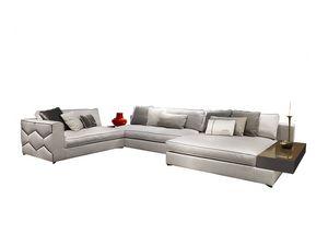 Diamond, Modulares Sofa mit starker ästhetischer Persönlichkeit