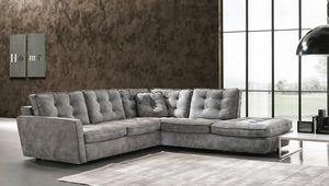 Diva, Sofa mit geneigten Armlehnen