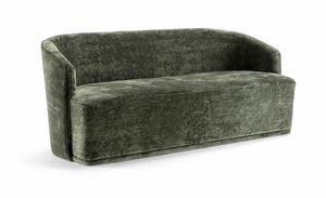 FRED SOFA 043 D, Sofa mit abgerundeter Form