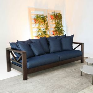 Hollywood Soft, Sofa mit Massivholzstruktur
