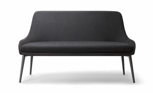 JO SOFA 058 DL, Sofa mit Metallbasis