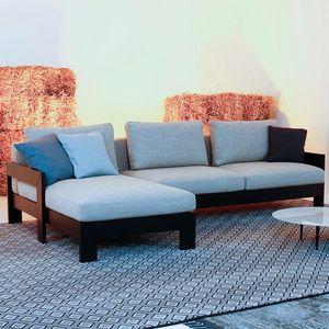 Kuba Classic, Modulares Sofa aus Holz