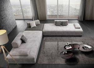 METROPOLIS, Sofa mit sehr weichem Sitz