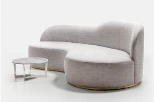 OLIVER SOFA 019 P, Sofa mit geschwungenen Formen