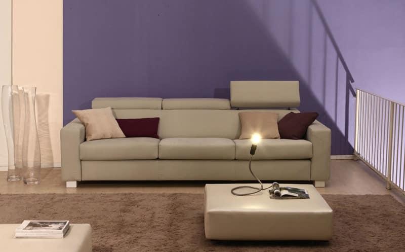 Rialto, Sofa Polsterung aus Polyurethan in Acrylfasern abgedeckt