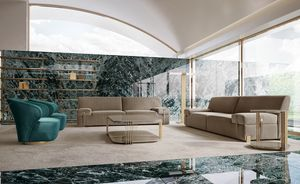 Richard Sofa, Bequemes 2- oder 3-Sitzer-Sofa