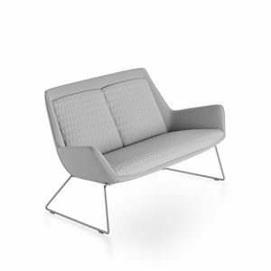 Roxy sofa, Modernes Sofa mit Metallfu�