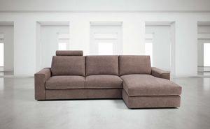 Vesuvio, Modulares Sofa, komplett abnehmbare Polsterung
