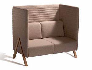 Vision 570SA, Zweisitzer-Sofa mit hoher Rückenlehne