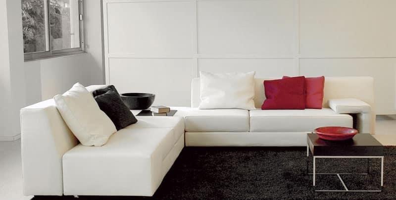 Zapping, Moderne Sofa mit Sitz drehen, abnehmbare Abdeckung