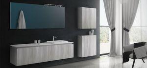 Plane Tecno 01, Einfache und elegante Badezimmermöbel