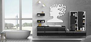 Torana TR 016, Große Badezimmermöbel, mit Speicherelementen