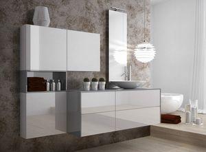 Torana TR 025, Badezimmerschränke, mit Waschbecken
