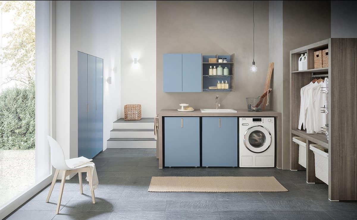 Berühmt Modulare Möbel für Waschküche   IDFdesign LC56