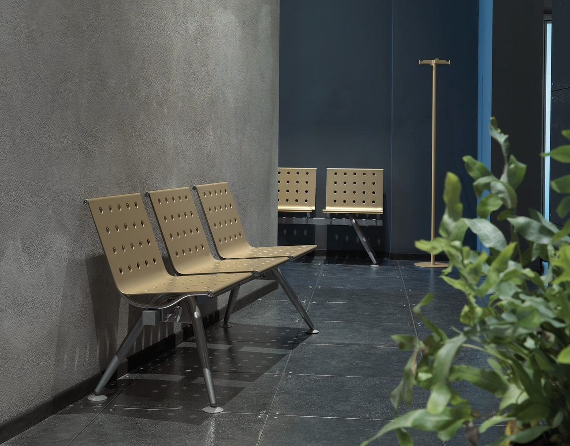 Ulisse, Modulare Sitzbank mit einer wesentlichen und innovatives Design