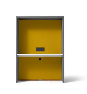Circuit Zoom, Freistehender Kokon, geeignet als Schreibtisch und für Videokonferenzen