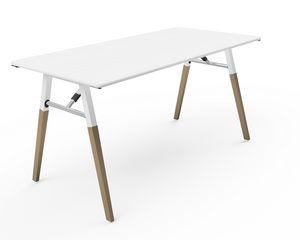 A-Fold AF1575, Rechteckiger Tisch für Meetings, Konferenzen und Bankette