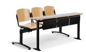 Universitäten Tabellen, Holz und Metall Tische für Universitäten geeignet