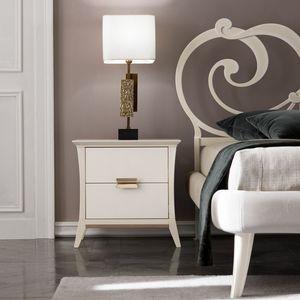 Ambra Art. 471, Eleganter Nachttisch aus Holz