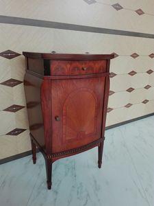 C228 Rosatea Nachttisch, Nachttisch im klassischen Stil zum Outlet-Preis