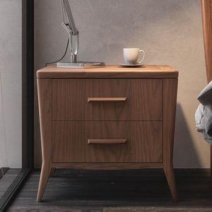 Nova NOVA1304T, Moderner Nachttisch aus Holz
