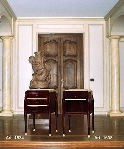 Ruhlmann Art Déco Art. 1534 - 1538, Nachttische im Art-Deco-Stil