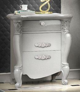 Smeraldo Art. 5306, Eleganter lackierter Nachttisch