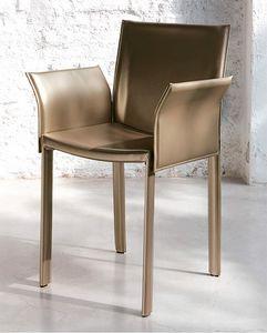 Malindi, Stuhl aus echtem Leder