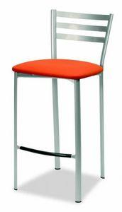 784 Liv, Küchenhocker, mit gepolstertem Sitz