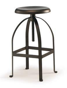 SG 504, Verstellbarer Stuhl, mit Schwenklift, f�r Bars